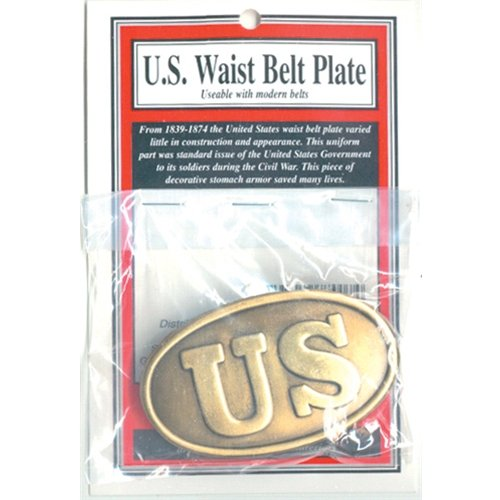Civil War Belt Buckles - American Civil War US Union Infantry Waist Belt Buckle
