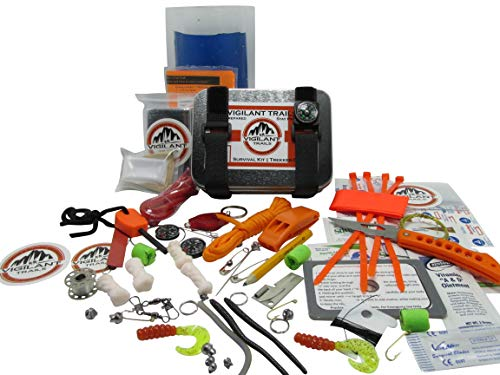 Vigilant Trails Survival Kit, Model Trekker-513