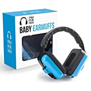 Pro For Sho Baby Ear Muffs Hearing Protection - Special Designed Comfort Fit for 3 Months to 2 Years - Blue