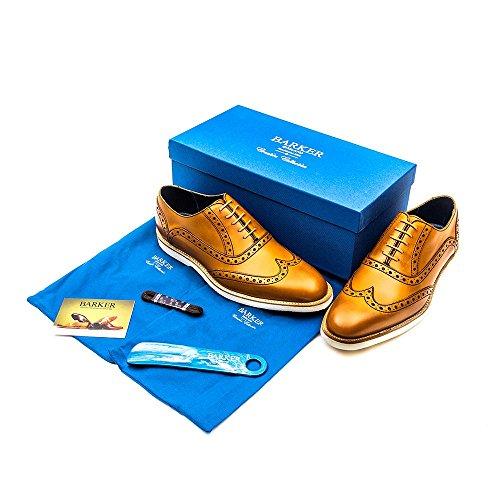 Barker Mens Grant Cedar Calf Leather Shoes 44 EU