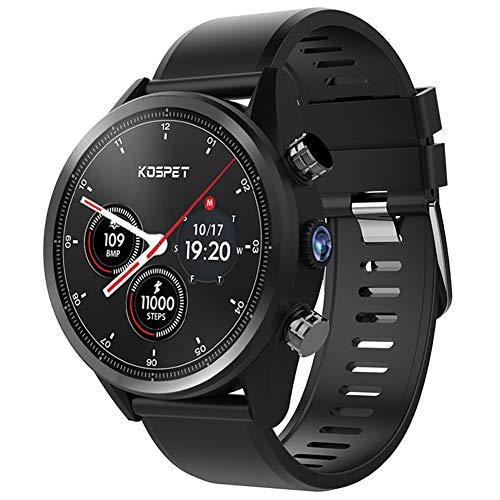MROSW Android 7.1 Smart Watch 3GB+32GB Dual 4G 1.39″ AMOLED WIFI 8.0MP IP67 Waterproof MTK6739 Smart Watch Phone