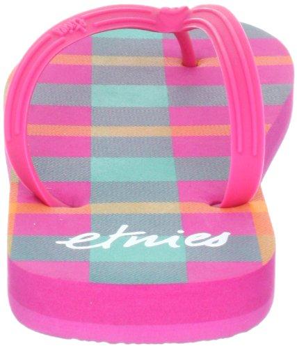 Etnies CHULA III 4204000100 Damen Sandalen/Bade-Sandalen Pink (PINK/WHITE 680)