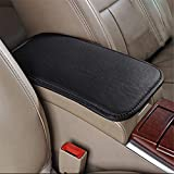 LKXHarleya Car Center Console Cover - Universal Car Armrest Cover - PU Leather Auto Arm Rest Cushion Pads - Center Console Armrest Protector - Fit for Most Vehicle - SUV - Truck Car Accessories