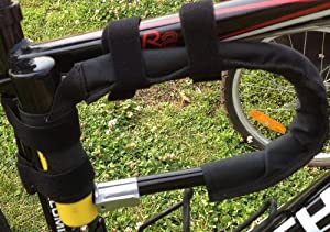 u lock holster bike mount and case u lock holder sports outdoors. Black Bedroom Furniture Sets. Home Design Ideas