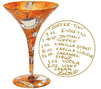 Lolita Love My Martini Glass - Coffee-tini