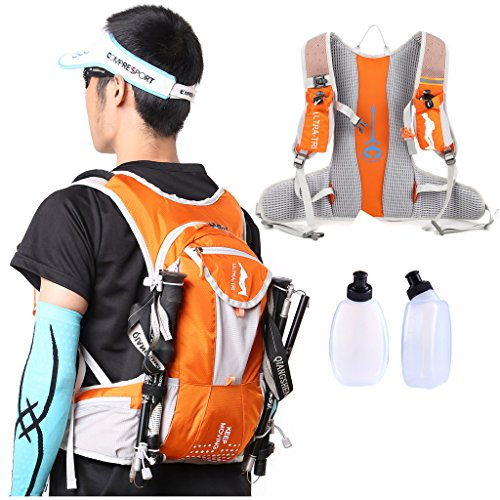 ULTRA-TRI Hydration Trail Running Backpack Professional Lightweight Outdoor Sports Water Bladder Bag Pack 12L