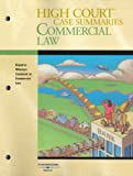 High Courttrade; Case Summaries on Commercial Law-Keyed to Whaley, , 0314169490