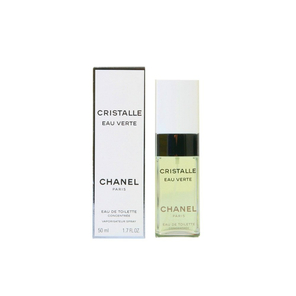 Chánel Cristálle Eáu Vérte Perfumé For Women 3.4 oz Eau De Toilette Concentree Spray