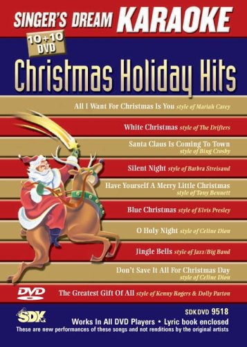 Singer's Dream Karaoke SKD9518 DVD - Christmas Holiday Hits