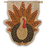 Gifted Living 13B3058 Turkey Time Vertical Flag For Sale