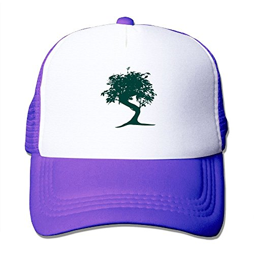 Wubgg Mens Womens Bonsai Tree Japanese Running Trucker Hat Trucker Cap For Men Women - Springtime Japan