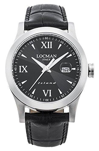 LOCMAN watch ISLAND 0614A01-00BKWHPK Men's
