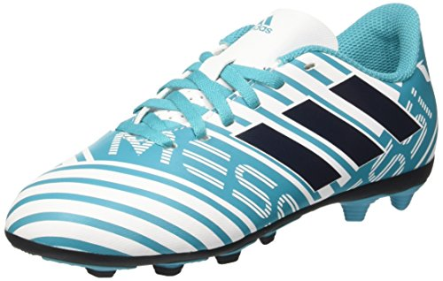 adidas Nemeziz Messi 17.4 FxG J, Zapatillas de Fútbol Para Niños Varios colores (Ftwbla/Tinley/Azuene)