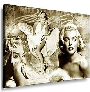 Art On Canvas - Frame 100x70x2cm Marilyn Monroe 5012