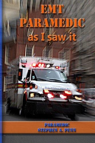 Download EMT Paramedic As I Saw It pdf