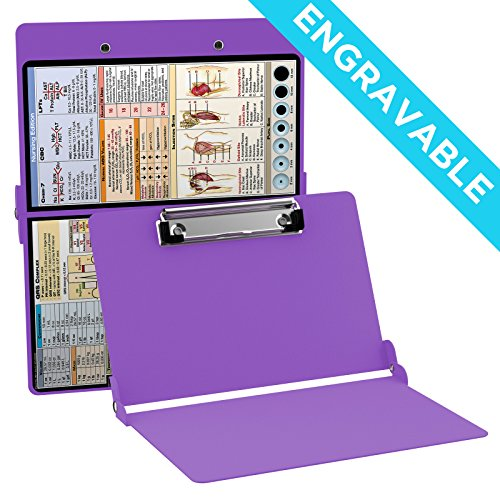 ENGRAVABLE - Whitecoat Clipboard- Lilac - Nursing Edition