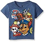 Paw Patrol Little Boys' Toddler Group T-Shirt, Navy Heather, 3T