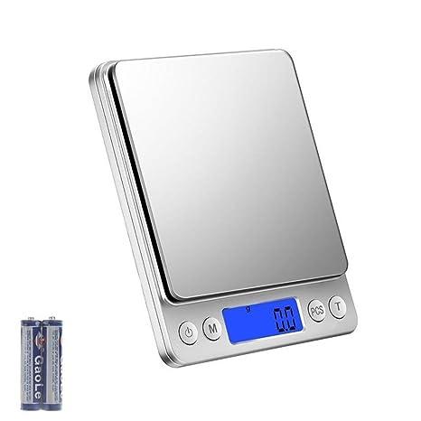Bilancia Da Cucina Digitale 3kg X 0 1g Bilancia Pesapersone Professionale Bilancia Elettronica Pesa Alimenti Indicatore Batteria Scarica Con Lcd