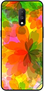 For OnePlus 7 Case Cover Floral Watermark Pattern