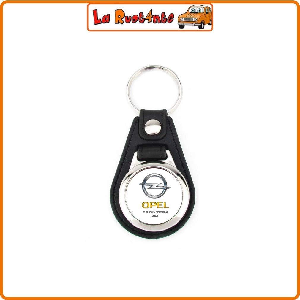 La Ruotante 1 Portachiavi Auto Opel Acciaio Cromato GETTONE Carrello Spesa