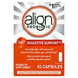Health & Personal Care : Align Probiotics Supplement, 63 Capsules, Gluten Free Digestive Support for Adult Men and Women