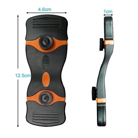 Gebildet 2pcs Mini Raspador de Cuchillas de Afeitar con 10pcs Cuchillas de Metal + 10pcs de Cuchillas de Plástico para Limpiar Calcomanías de ...