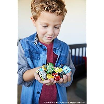 Disney Pixar Cars Mini Racers Glow-in-the-dark Series 3-Pack: Toys & Games