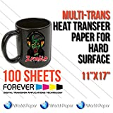 100 sheets Forever Multi-Trans Heat Transfer Paper for Hard Surface