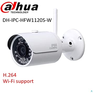Amazon.com: Dahua IP WIFI Cámara ipc-hfw1320s-w 3.0 MP 3.6 ...