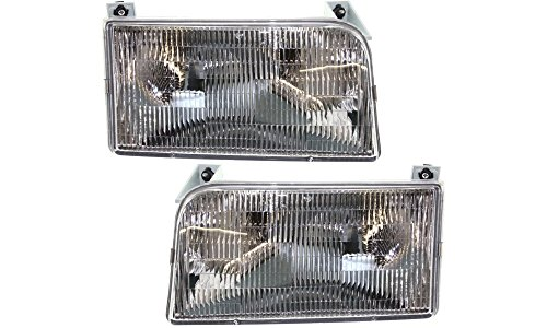 92 ford f150 headlight assembly - 2