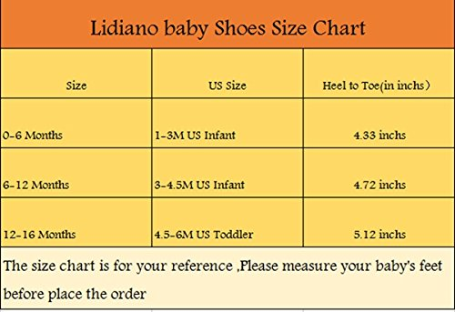 Lidiano Baby Toddler Sewing Nubuck Upper Non Slip Rubber Sole Sneakers Slippers Loafers Crib Shoes (6-12 Months, Deep Blue) - Image 4