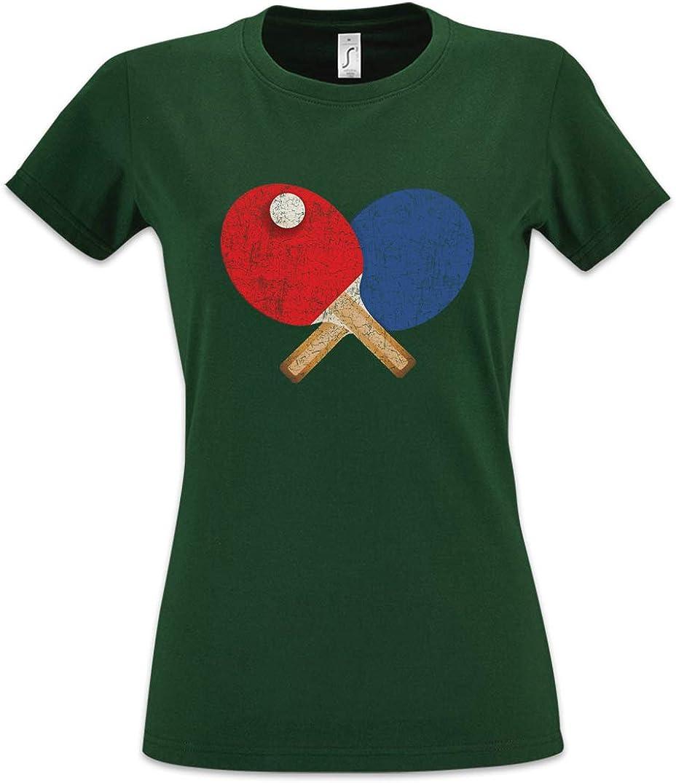 Urban Backwoods Table Tennis Tools II Camiseta de Mujer Women T-Shirt