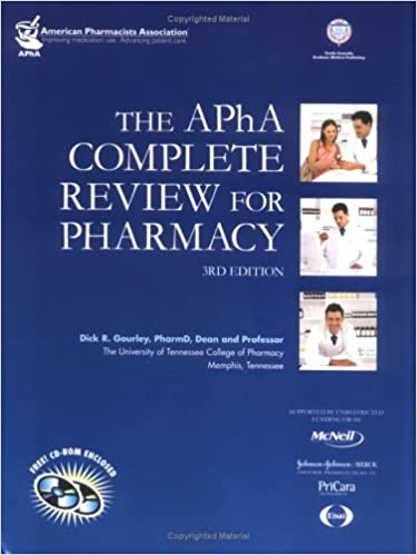 The APHA Complete Review For Pharmacy Third Edition