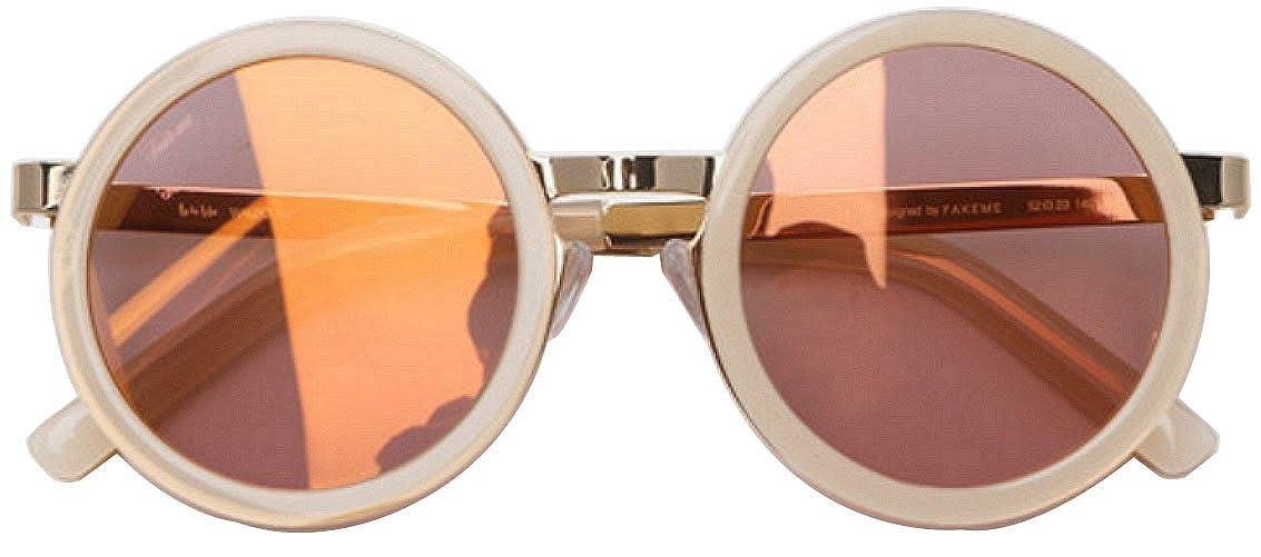 【お気に入り】 [ペイクミ] FakeMe サングラス Sunglass FakeMe Waldo サングラス IVO B01CZSKKV8 (Pink Half Mirror) [並行輸入品] B01CZSKKV8, 舞乃市:572f7721 --- ciadaterra.com