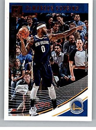 d5c2f12d0 2018-19 Donruss  42 DeMarcus Cousins Golden State Warriors Basketball Card