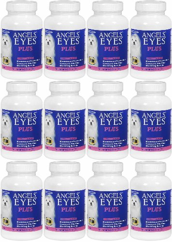 Angels' Eyes PLUS Dog Tear Stain Remover, Beef 900g (12 x 75g) by Angel's Eyes