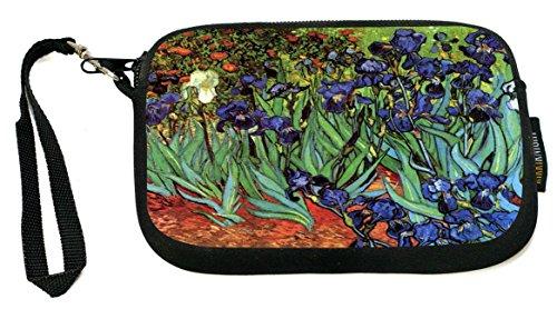 Rikki Knight UKBK Neoprene Smartphone Bag - Van Gogh Art Irises for Universal/Smartphones by Rikki Knight