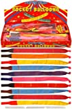 10X Latex Rocket Balloons – 24cm – Pack of 2
