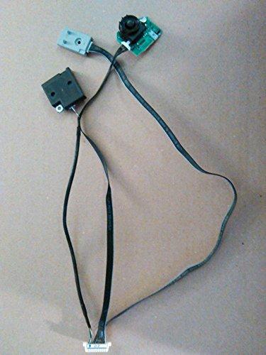 E345404 PN64E550D1FXZA SAMSUNG 64 PLASMA TV FUNCTION CABLE WIFI CABLE SENSOR With Power button, wifi module, and IR sensor modules (Samsung 64 Plasma Tv)