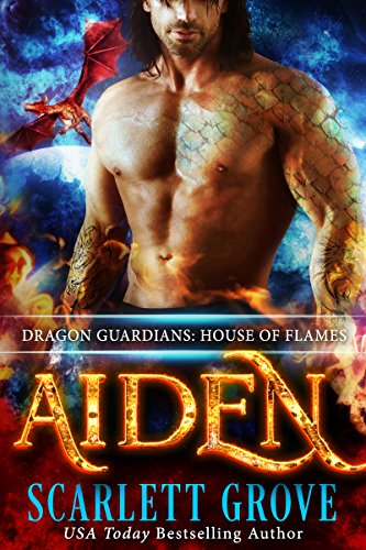 Aiden: House of Flames (Dragon Rockstar Warrior Romance) (Dragon Guardians Book 3) by [Grove, Scarlett]