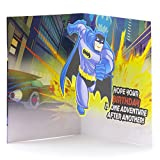 Hallmark Birthday Greeting Card for Kids (Batman)