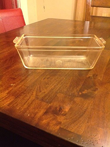 Extra Large 12 X 5 1/2 Pyrex Meat Loaf Glass Cooking Dish # 214 ()