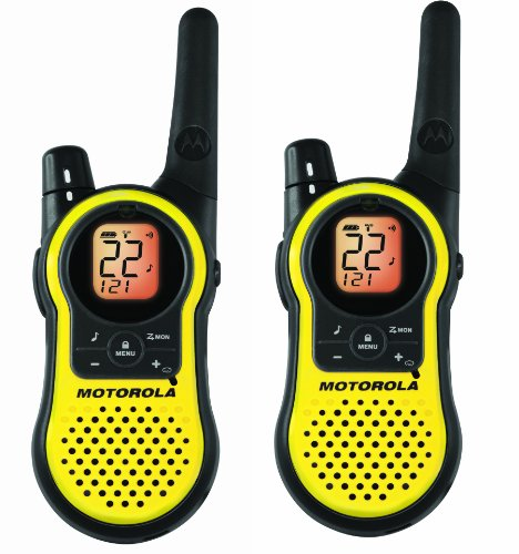 Motorola 23-Mile Range 22-Channel Two Way Radio