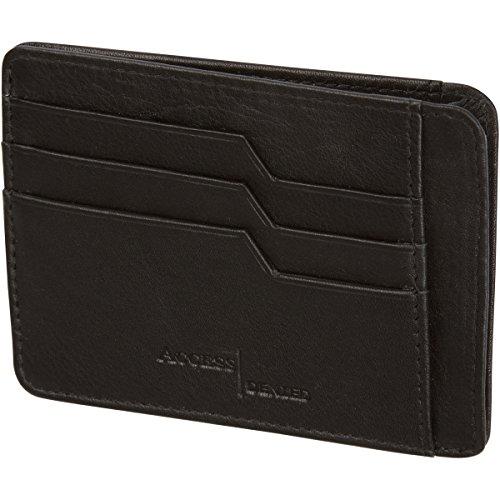 Unisex Soft Leather Wallet (Black) - 3