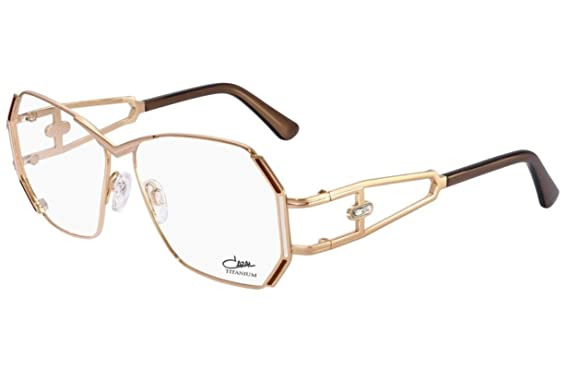 f573b8288b0 Cazal 225 Eyeglasses Frames Color 003 Rose Gold Bronze Tip Authentic New   Amazon.co.uk  Clothing
