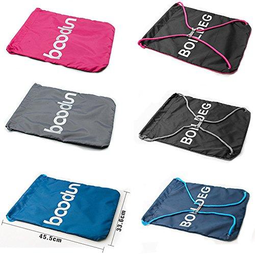 Travel casa, borsa a tracolla, in nylon con coulisse zaino pieghevole bag, borsa in nylon impermeabile
