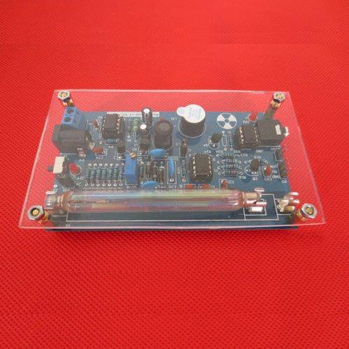 Assembled DIY Geiger Counter Kit Nuclear Radiation Detector GM Tube γ β -ray radiation Eleoption