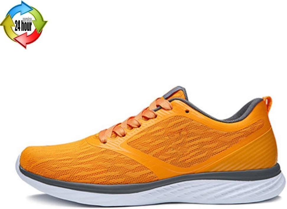 Zapatos para Hombre Zapatos De Hombre Nuevos De Primavera Zapatillas Casuales para Hombres Zapatillas De Running De Malla Transpirable para Hombre (Color : Orange, Size : 8): Amazon.es: Hogar