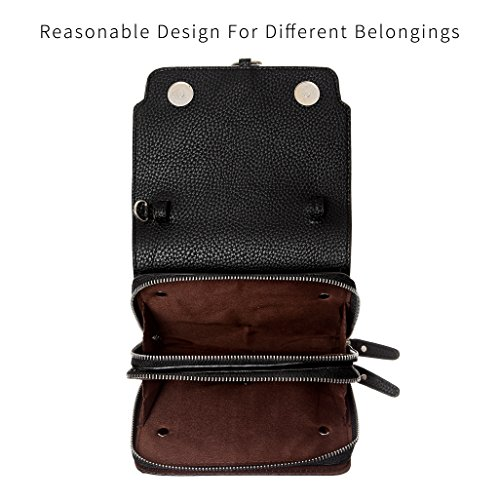 Smartphone women Bags Phone Crossbody Women phone holder For wallet purse Women HAIDEXI Crossbody Small Black for Purse Cell wvOwY