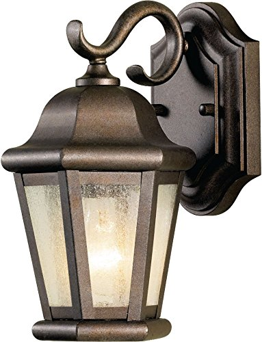 - Feiss OL5900CB Martinsville Outdoor Patio Wall Lantern, 1-Light, 60watts, Bronze (6